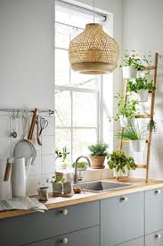 mit pflanzen dekorieren natur für dein zuhause ikea küche