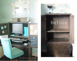 Broyhill Fontana Armoire Entertainment Hutch by How To Turn A Regular Armoire Into A Computer Cabinet Diy Diy