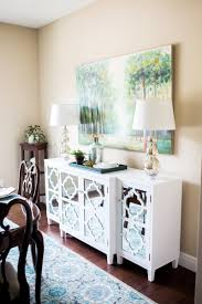 10 Mod And Mirrored Buffet Makeover