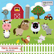 Cute Farm Animals Clipart - Instant Download File - Digital ... Farm Animals Living In The Barnhouse Royalty Free Cliparts Stock Horse Designs Classy 60 Red Barn Silhouette Clip Art Inspiration Design Of Cute Clipart Instant Download File Digital With Clipart Suggestions For Barn On Bnyard Vector Farm Library