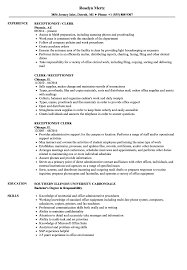 Receptionist / Clerk Resume Samples | Velvet Jobs How To Write A Literature Essay By Andrig27 Uk Teaching Clerical Worker Resume Example Writing Tips Genius Skills Professional Best Warehouse Examples Of Rumes Create Professional 1112 Entry Level Clerical Resume Dollarfornsecom Administrative Assistant Guide Cv Template Sample For Back Office Jobs Admin Objectives 28 Images Accounting Clerk Job Provides Your Chronological Order Of 49 Pretty Gallery Work Best