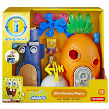 Spongebob Halloween Dvd Walmart by Imaginext Spongebob Squarepants Bottom Play Set Walmart Com