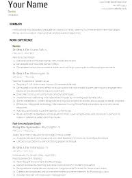 Dental Resume Example Dentist Job Hopping Template Format Examples