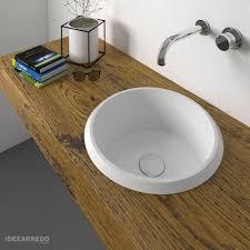 eingebautes waschbecken vinyl olympia keramik runde waschbecken