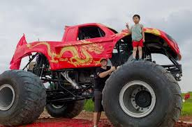 Image May Contain 2 People Outdoor See All Videos Monster Truck Asia