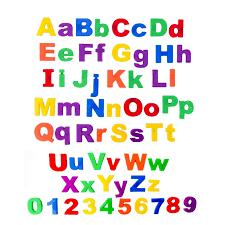 Magnetic Letters Childrens Kids Alphabet Magnets In UPPER Case
