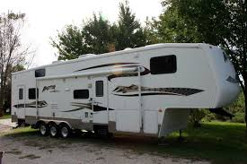 Fifth Wheel Campers With Front Living Rooms by New Or Used Toy Hauler Rvs For Sale Rvtrader Com