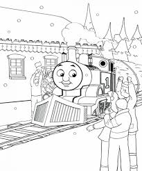 Thomas And Friends Coloring Games Online Colouring Free Train Tank Engine Winter Pages Kids Large