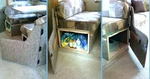 Dining Table Small Room Tip Plus Transform Your Dinette Booth Full Access Cabinet Rv Tables For