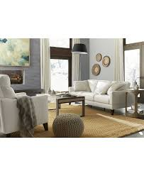 Alessia Leather Sofa Living Room by Living Room Collections Living Room Furniture Sets Macy U0027s