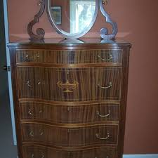 Tiger Oak Dresser With Swivel Mirror by Antique And Vintage Dressers Collectors Weekly