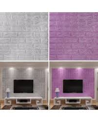 Spring Shopping Deals On 3D Brick Pattern Self Adhesive Wallpaper