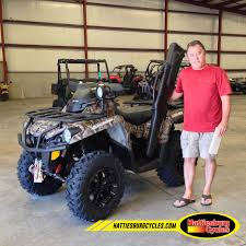 100 Tim Stewart Thanks To From Pascagoula MS For Getting A 2016 Can Am