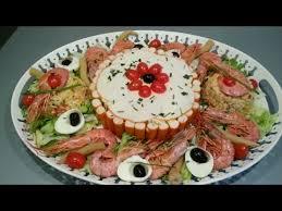 prestige cuisine salade prestige au surimi سلطة راقية بالسوريمي على شكل طورطة