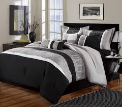 Bed Navy And Grey forter Gray Twin Bedding Set Gray And White