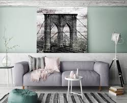 Extra Large Black And White Rustic Urban Canvas Art Print Up To 54 By Irena Orlov