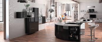 fabricant cuisine cuisine design ronde alicante 5 haut de gamme sur mesure