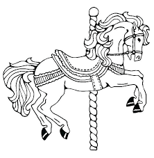 Horse Coloring Sheets Head Page Horses