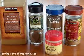 Ingredients For Pumpkin Pie Spice by Pumpkin Pie Spice For The Love Of Cooking