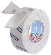 tesa montageband doppelseitiges klebeband für fliesen und metall feuchtraumbeständig 1 5 m x 19 mm