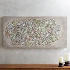 Mosaic Succulent Wall Panel