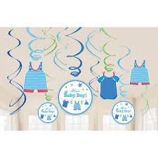 Very Best Amscan Party Supplies Blue Its A Boy Baby Shower