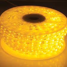 LED Rope Light Bulk Reel Amber