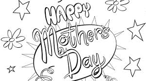 Grandkids Can Color This Free Printable Card For Mothers Day