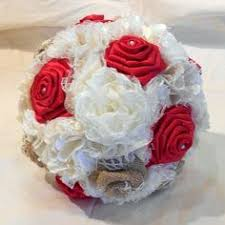 Wedding Bouquet Bridal Bouquet Keepsake Bouquet Fabric Bouquet