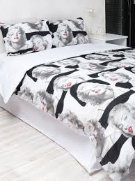 Marilyn Monroe Bedroom Furniture by Marilyn Monroe Duvet Double Cover Set Price Review And Buy In