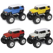 Toyota FJ Cruiser Monster Truck RED WHITE BLUE YELLOW 5