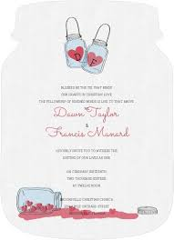Rustic Love Jar Wedding Invitation By WeddingPaperie