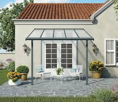 Palram Feria Patio Cover Sidewall by Palram Sierra 3m Deep Patio Cover Range Gardensite Co Uk