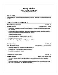 18 Free Massage Therapist Resume Templates Rh Hloom Com Functional Example Page 1 Examples