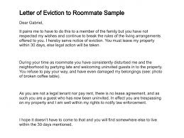 sample eviction letter to family member Asafonec