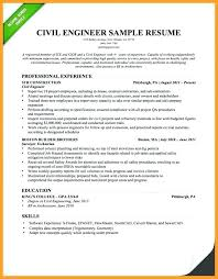 Sample Civil Engineering Resume Entry Level Electrical Engineer Art Examples