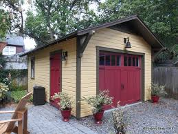 Potting Shed Tampa Hours by Custom One Car Detached Bungalow Garages In Florida Historic
