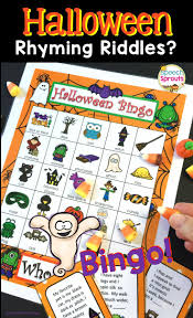 Short Halloween Riddles And Answers by 150 Best Halloween Speech Therapy Activities Images On Pinterest