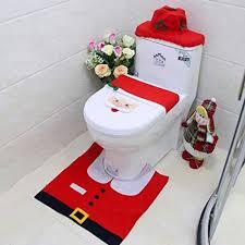mroobest weihnachten toilettensitzbezug weihnachts wc