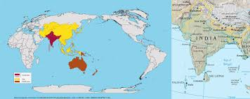 Picture Of Diagram World Map Equator Asia In