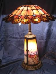 Ebay Antique Lamps Vintage by 277 Best Tiffany Lamps Images On Pinterest Tiffany Glass Glass