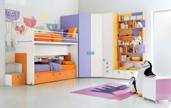 Interior Decoration Of Girls Bedroom In Malad West Mumbai Vivan Enterprises Private Limited
