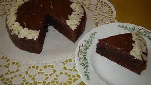 rotwein schokoladen kuchen mit rum
