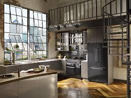 Aga Legacy Black3 Compressed Industrial Kitchen Design Sensational ... Kitchen And Design Industrial Modular Industrial Kitchen Design Daily House And Home Excellent Pictures Office 29 Modern Small Ideas Style Marvelous Images Capvating Cool Willis Contemporary By Snadeiro Kitchens For Look Vintage Decor Bar Breakfast Wall Mounted 24 Best To Make Your Becoming