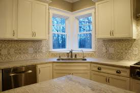 Tin Tiles For Backsplash by Cement Tile And Tin Ceiling Tile Backsplash In My Gray And White