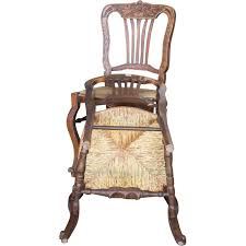 6 antique seat chairs turned footrest c 1900 from
