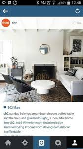 shroom coffee table cb2 love this coffee table the round edges
