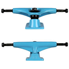 Tensor Trucks 5.25 Blue Magnesium Pair - TGM Skateboards
