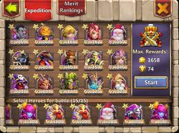 Castle Clash Pumpkin Duke Talent by Sold Castle Clash Us Account Android All Heroes Playerup