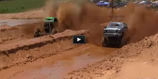 Most Awesome Mega Mud Trucks In The World Drag Races!